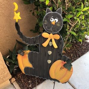 Halloween yard ornament medium size